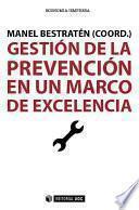 Libro de Gestión De La Prevención En Un Marco De Excelencia
