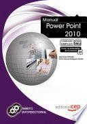 Libro de Manual Power Point 2010. Formación Para El Empleo