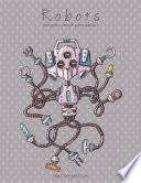 Libro de Robots Libro Para Colorear Para Adultos 1