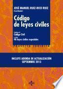 Libro de Código De Leyes Civiles