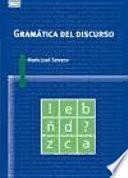 Libro de Gramática Del Discurso