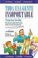 Libro de Toda Esa Gente Insoportable