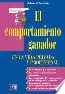 Libro de El Comportamiento Ganador En La Vida Privada Y Profesional