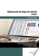 Libro de Uf0858   Elaboración De Hojas De Cálculo