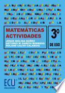 Libro de Matemáticas. 3a Eso. Actividades