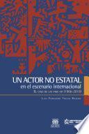 Libro de Un Actor No Estatal En El Escenario Internacional