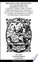 Libro de Pronosticacion O Revolucion Para 1565 De Nostradamus