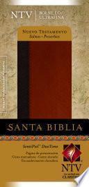 Libro de Santa Biblia Sentipiel Ntv