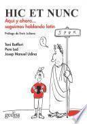 Libro de Hic Et Nunc
