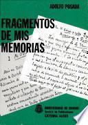 Libro de Fragmentos De Mis Memorias