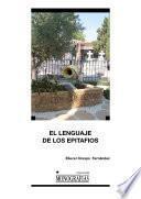 Libro de El Lenguaje De Los Epitafios