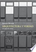 Libro de Arquitectura Y Verdad