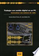 Libro de Trabajar Con Sonido Digital En Un Pc