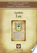 Libro de Apellido Lax