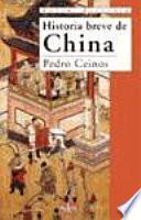 Libro de Historia Breve De China