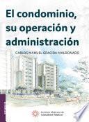Libro de El Condominio, Su Operación Y Administración