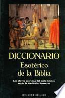 Libro de Diccionario Esotérico De La Biblia