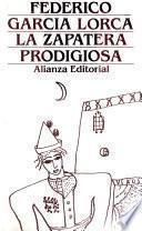 Libro de La Zapatera Prodigiosa