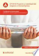 Libro de Proyecto Y Viabilidad Del Negocio O Microempresa. Adgd0210