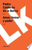 Libro de Amor, Honor Y Poder