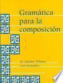 Libro de Gramática Para La Composición