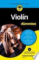 Libro de Violín Para Dummies