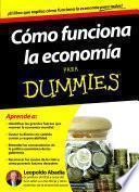 Libro de Cómo Funciona La Economía Para Dummies
