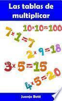 Libro de Las Tablas De Multiplicar