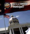 Libro de QuŽ Es Un Consejo Municipal?