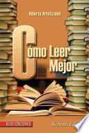 Libro de Cómo Leer Mejor