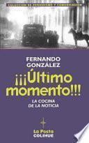 Libro de ¡¡¡Último Momento!!!