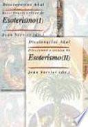 Libro de Diccionario Crítico De Esoterismo (2 Vols.)