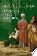 Libro de Lecciones De Los Maestros