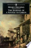 Libro de The Journal Of A Voyage To Lisbon
