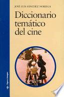 Libro de Diccionario Temático Del Cine