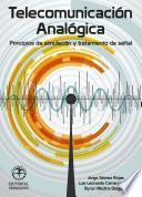 Libro de Telecomunicación Analógia. Principios De Simulación Y Tratamiento De Señal
