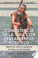 Libro de Consistencia De La Vida Con Pensamientos Positivos
