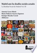 Libro de Madrid Ante Los Desafíos Sociales Actuales.