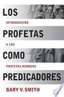 Libro de Los Profetas Como Predicadores