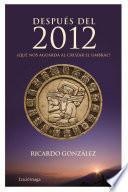 Libro de Después Del 2012