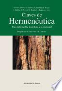 Libro de Claves De Hermenéutica