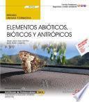 Libro de Manual. Elementos Abióticos, Bióticos Y Antrópicos (uf0732). Certificados De Profesionalidad. Interpretación Y Educación Ambiental (seag0109)