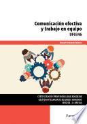 Libro de Uf0346   Comunicación Efectiva Y Trabajo En Equipo