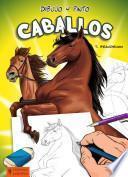 Libro de Dibujo Y Pinto Caballos