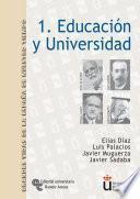 Libro de Educación Y Universidad