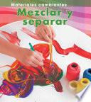 Libro de Mezclar Y Separar