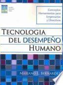 Libro de Tecnologia Del Desempeo Humano