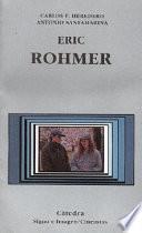 Libro de Eric Rohmer