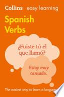 Libro de Easy Learning Spanish Verbs (collins Easy Learning Spanish)