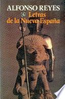 Libro de Letras De La Nueva España